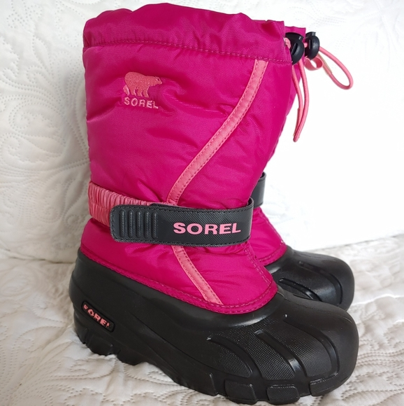 girls snow boots size 1